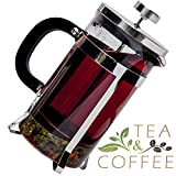 Pyora French Press Coffee and Tea Maker 34 Ounce, Stainless Steel thumbnail