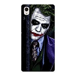 Delighted Joke Sneeking Multicolor Back Case Cover for Xperia M4 Aqua
