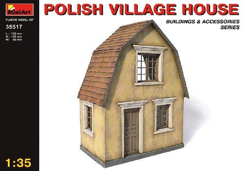 Mini Art Plastics Polish Village House