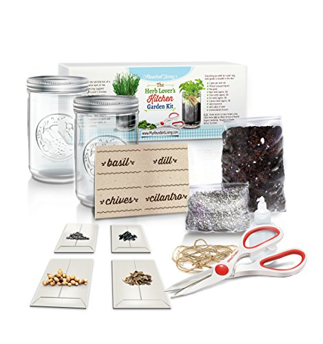Kitchen Garden Kit: Herb Lover's Kitchen Garden Kit By Abundant Living. Great