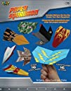 POOF-Slinky 2165BL POOF Paper Squadron with Different Plane Sticker Designs and Art Paper Folding…