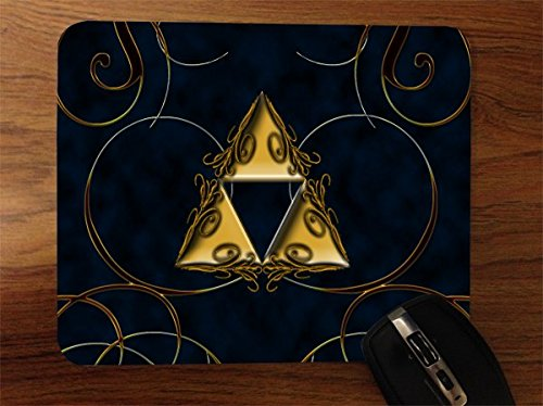 Triforce Desktop Office Silicone Mouse Pad by Demon Decal