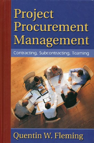 project procurement management quentin w fleming pdf