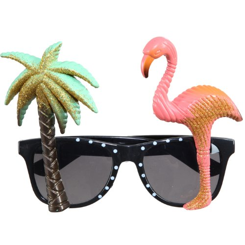 neu brille hawaii palme flamingo minuruki tetiya. Black Bedroom Furniture Sets. Home Design Ideas