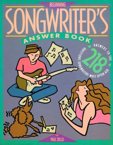 Image for Beginning Songwriters Answer Book