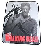 The Walking Dead Daryl Dixon Soft Fleece Throw Blanket 46 x 60