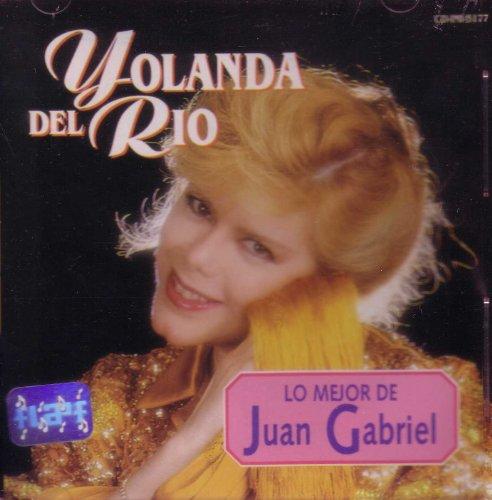 Yolanda Del Rio Mejor De Juan Gabriel cd cover
