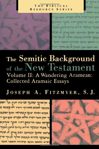 aramaean aramaic background collected essay new semitic testament wandering Do you want to remove all your recent searches all recent searches will be deleted.