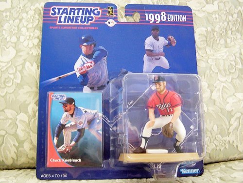 1998 MLB Starting Lineup - Chuck Knoblauch - Minnesota Twins - 1