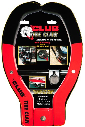 The Club 491 Tire Claw Security Device