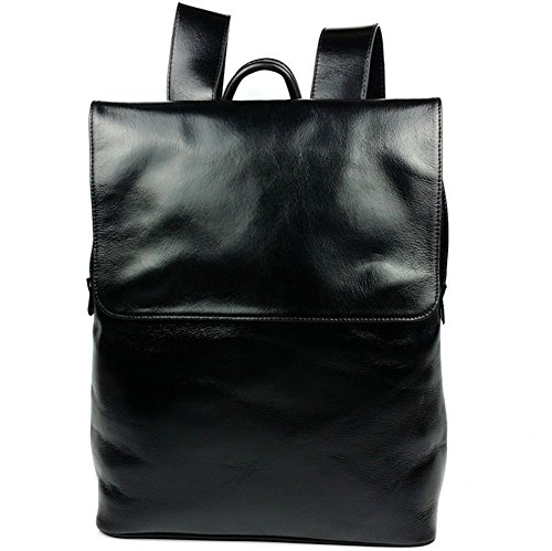 YAAGLE-Unisex-Vintage-Genuine-Leather-Bags-Backpack-Rucksack-For-Daypack
