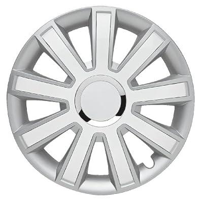 4er-satz Radkappen 14 Zoll Master Line Plus C Flashsilver-white Fr Ford Radblenden Radzierblenden Radkappe von Albrecht