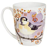Violet Sparrow Coupe Mug
