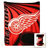"Detroit Redwings Fleece Blanket (50"" x 60"")"