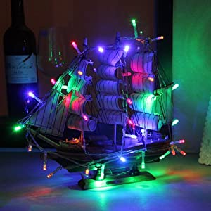 Innoo Tech Multi colour Battery Operated Christmas Lights String 30 LED for Indoor Bedroom Wedding Christmas Birthday Party