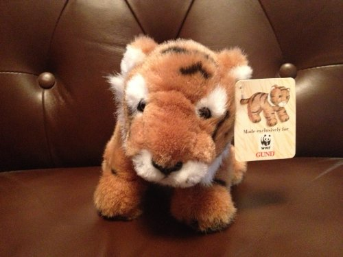 "World Wildlife Fund 8"" Plush Tiger - 1"
