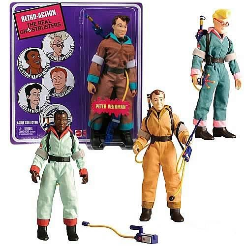 Picture of Mattel The Real Ghostbusters Retro-Action Wave 1 Figures Case (B004F41CHM) (Mattel Action Figures)