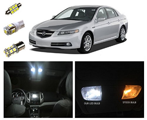 04 08 acura tl led package interior tag reverse lights 11 pieces vehicles parts vehicle 2004 acura tl led interior lights