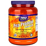 Now Foods Pea Protein Supplement, Vanilla Toffee, 2 Pound
