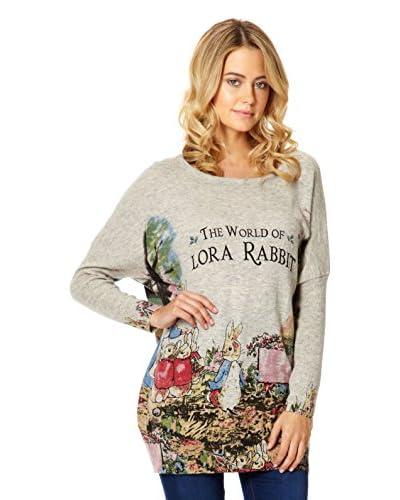 Miss Jolie Jersey Oversize Lora Rabbit