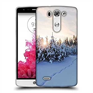 Snoogg Snow Region Designer Protective Phone Back Case Cover For LG G3 BEAT
