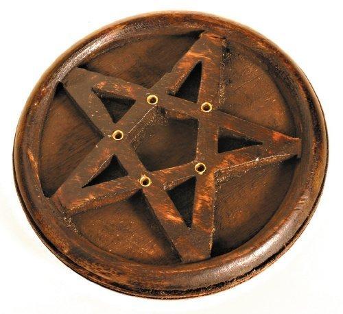 Holy humos incensario - Madera de estrella de pentagrama