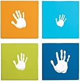 Pearhead Handprint Wall Art (Blue)
