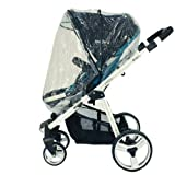 New Raincover For Petite Star KURVI Stroller Pram Pushchair rain cover (Ziko)