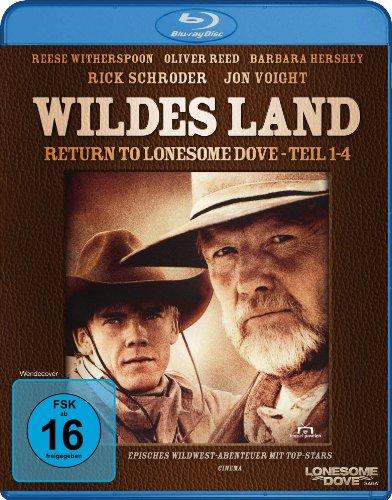 Wildes Land - Return to Lonesome Dove - Teil 1-4 (Fernsehjuwelen) [Blu-ray]