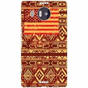 Microsoft Lumia 950 XL Back Cover ( Designer Printed Hard Case)