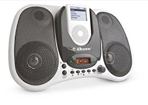 DLO iBoom Boombox for iPod White