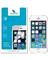 ScreenSkin® Pack of 5 High Quality Clear Screen Protectors Guard for Apple iPhone 5 5S 5C