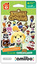 Nintendo Animal Crossing amiibo Cards 6-pack - Series 1
