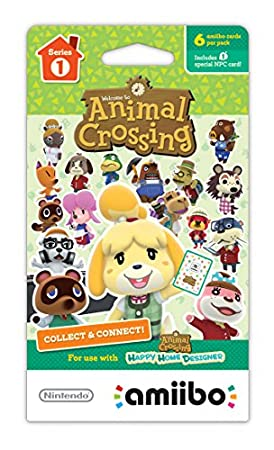 Animal Crossing Amiibo Cards 6-Pack Series 1