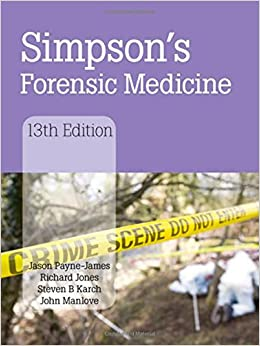color atlas of forensic medicine and pathology pdf