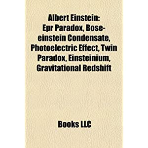 Amazon.com: Albert Einstein: EPR paradox, Bose-Einstein condensate ...