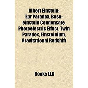 Amazon.com: Albert Einstein: EPR paradox, Bose-Einstein condensate ...