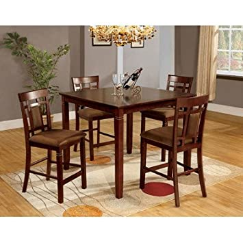 Hokku Designs Wilton 5 Piece Counter Height Dining Set