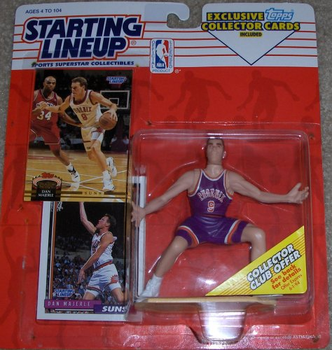 Starting Lineup 1993 NBA Dan Majerle Figure/Collector Cards