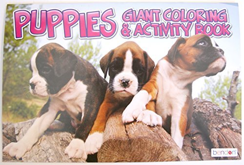 Puppies Giant Coloring and Activity Book