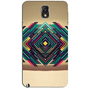 ABSTRACT TRIANGLE ART BACK COVER SAMSUNG GALAXY NOTE 3