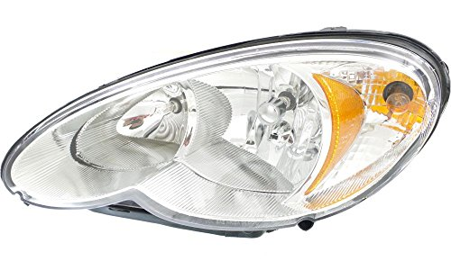 Evan-Fischer EVA13572020151 New Direct Fit Headlight Head Lamp for PT CRUISER 06-10 LH Assembly Halogen Code LME With Bulb(s) Driver Side Replaces Partslink# CH2502164 (Headlight Assembly Pt Cruiser compare prices)