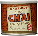 Set of 3 Trader Joes Spicy Chai Latte 10 oz per tin