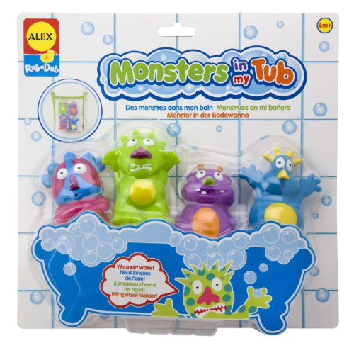 ALEX Toys Rub a Dub Monsters In My Tub