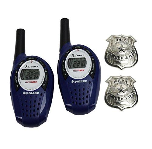 Cobra MicroTalk Walkie Talkies - 25 Mile Range - blue