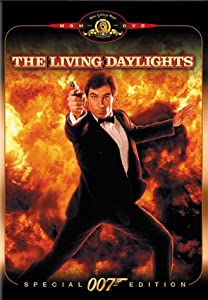 """The Living Daylights"" is the first James Bond movie with Timothy Dalton playing James Bond."
