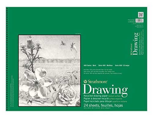 Strathmore-Recycled-Drawing-Spiral-Paper-Pad-18X24-24-Sheets