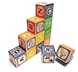 Uncle Goose Norwegian ABC Blocks - Made in USA