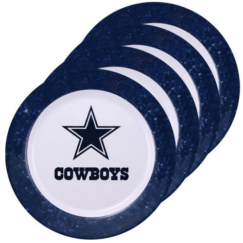 Dallas Cowboys Dinner Plates (Set Of 4)  sc 1 st  TheFindom & Dallas cowboys nfl dinner plates | Shop Online Top Dallas cowboys ...