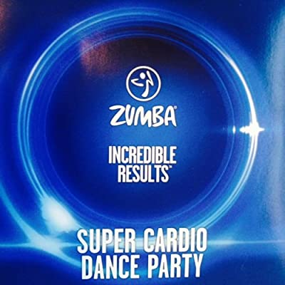 Zumba Fitness Super Cardio Dance Party DVD From The Incredible Results DVD Set!